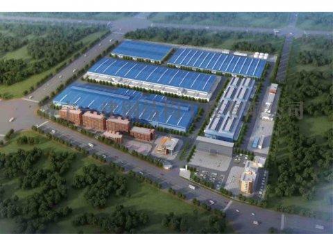 安徽美信厂房、仓库及公共辅助钢结构工程