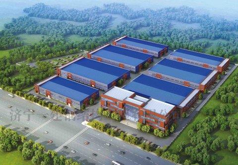 华硕·产业园建设钢结构工程
