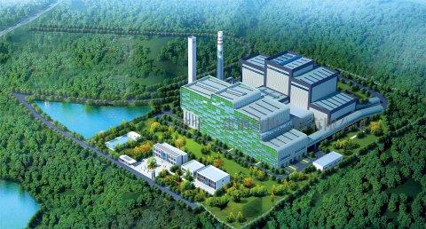 六安市生活垃圾焚烧发电项目二期钢结构工程