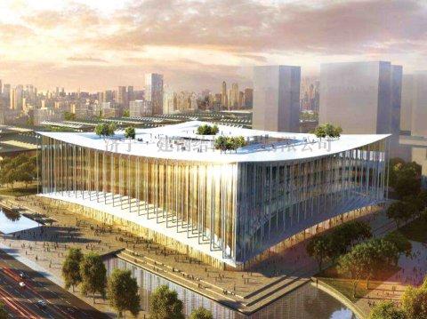 西安丝路国际会展中心钢结构工程