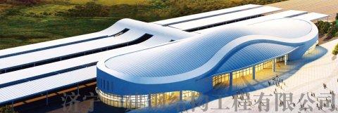 鄂尔多斯火车站钢结构幕墙工程