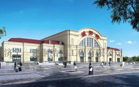 青荣城际铁路站房城阳站钢结构工程
