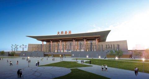 新建大同至张家口高速铁路站房、 生产生活房屋及配套工程DZZF-1标 阳高南站幕墙工程