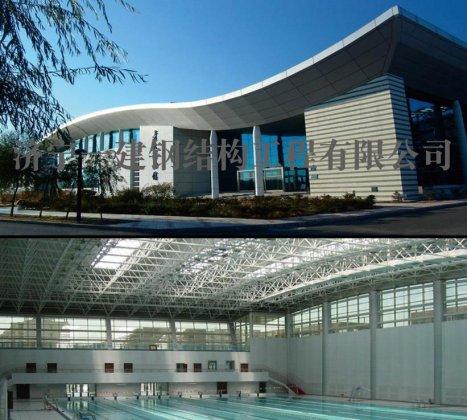 齐齐哈尔大学游泳馆网架