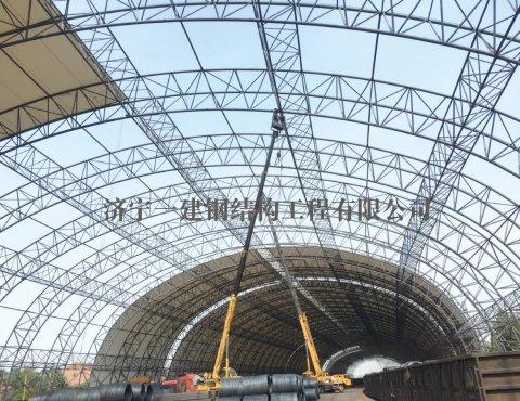 山西建邦集团有限公司铁路专用线站台抑尘设施工程